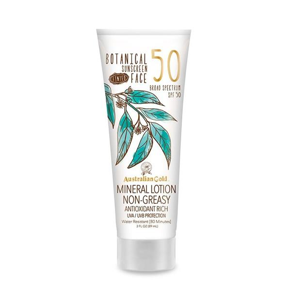 Botanical SPF 50 Tinted Face Lotion, 89 ml